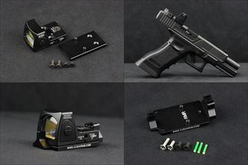 【入荷情報】ACE1ARMS RMR ドットサイト、Glock用マウント 入荷しました!