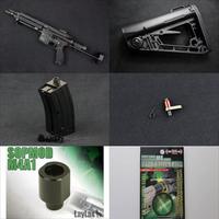 【入荷情報】VFC HK416Cガスブロ本体、実物ストック、電動ガン用パーツなど再入荷しました!