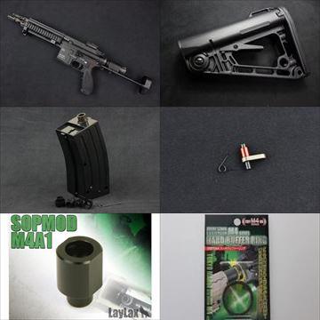 【入荷情報】VFC HK416Cガスブロ本体、実物ストック他、電動ガン用パーツなど再入荷しました!