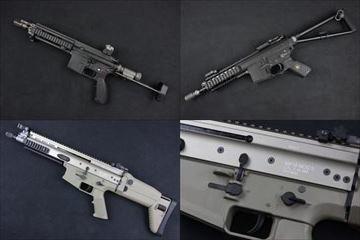 【入荷情報】WE ガスブロ本体 HK416C、PDWショート、SCAR L DE 入荷しました!