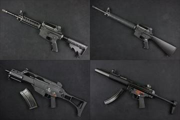 【入荷情報】WE ガスブロ本体 M4A1、M16、MP5SD3、G36C・G36E入荷しました!