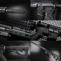 【OUTLINE】M4 Gun's Photo - NOVESKE WE ガスブロ ORGAコンプリート-