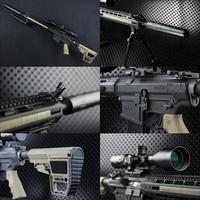 【OUTLINE】M4 Gun's Photo - PTS MEGA ARMS AR10 カスタム ORGA Ver -