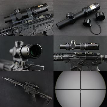 【OUTLINE】実物 Bushnell AR OPTICS 1-4x 24mm
