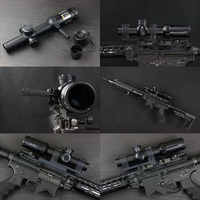 【OUTLINE】実物 Bushnell AR OPTICS 1-4x 24mm Throw Down PCL