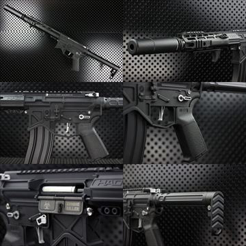 【OUTLINE】M4 Guns Photo - BAD SPQRカスタム-