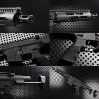 【OUTLINE】M4 Gun's Photo - MWS M4ピストルカスタム -