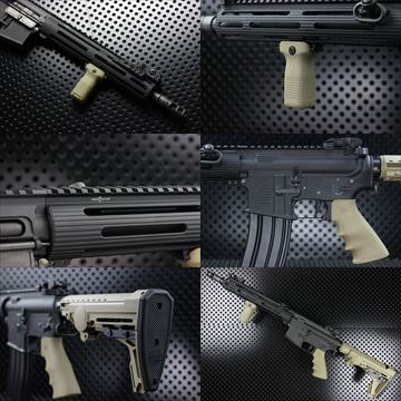 【OUTLINE】M4 Guns Photo - MWS VIKINGカスタム -