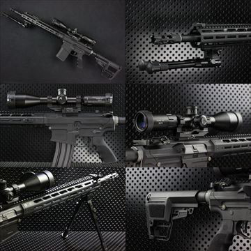 【OUTLINE】PTS MEGA ARMS AR10 カスタム