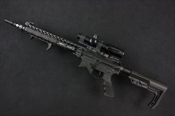 アウトライン 実物 ブッシュネル AR OPTICS 1-4x 24mm Throw Down PCL