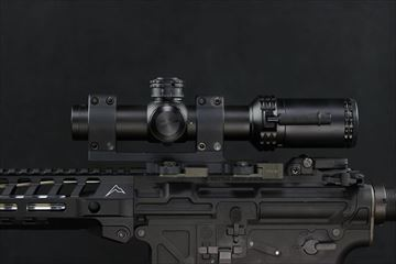 アウトライン 実物 Bushnell AR OPTICS 1-4x 24mm Throw Down PCL