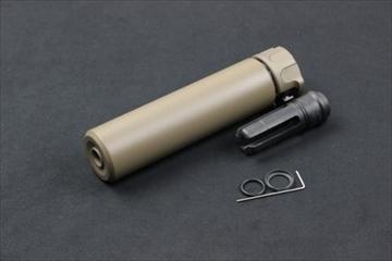 アングリーガン SOCOM556 Mock サイレンサー FDE
