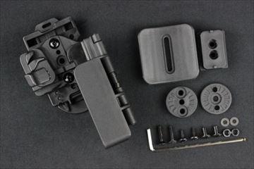 クアンタムメカニクス 3キャリークイック タクティカルホルスター G17G22用