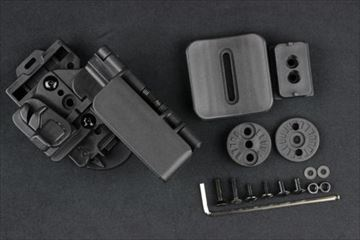 クアンタムメカニクス 3キャリークイック タクティカルホルスター G19用