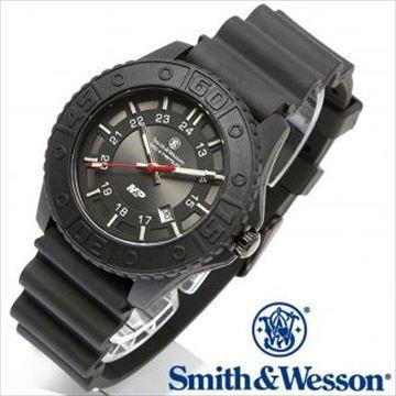 スミス&ウェッソン M&P WATCH ミリタリー&ポリス ウォッチ BLACKBLACK