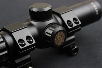 トゥルーブライト 1-4×24mm ショートスコープ