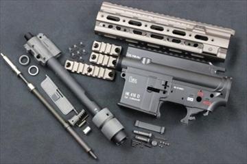 トレポン HK416D SMR V1 コンバージョンキットHAO製 鈴友刻印