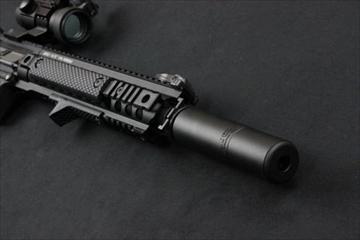 マグプルPTS Griffin M4SD2 Mock サイレンサー BK