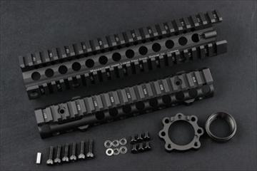 マッドブル ダニエルディフェンス MK18RIS II 9.5inch BK ハンドガード