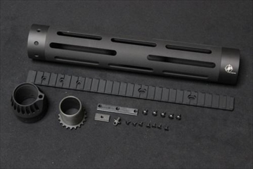 マッドブル JP-Rifle 12inch ハンドガード BK