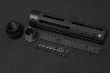 マッドブル JP-Rifle 9.8inch ハンドガード BK