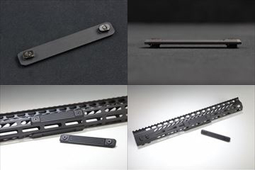 実物GUNTEC USA M-LOK NEOPRENE GRIP PANELS (3PCS)