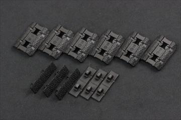 実物 マグプル M-LOK レイルカバー Type2 BK