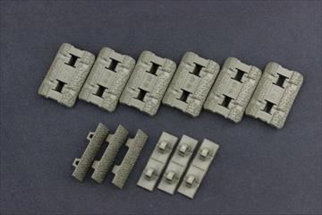 実物 マグプル M-LOK レイルカバー Type2 OD