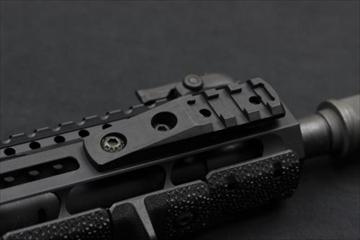 実物 マグプル M-LOK Cantilever Rail  Light マウント2
