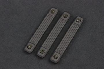 実物 GUNTEC USA M-LOK NEOPRENE GRIP PANELS (3PCS)