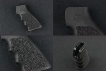 実物 HOGUE MONOグリップ AR_M16 BK ガスブロ用