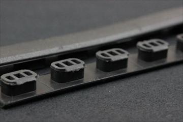 実物MAGPUL M-LOK レイルカバー Type1 BK