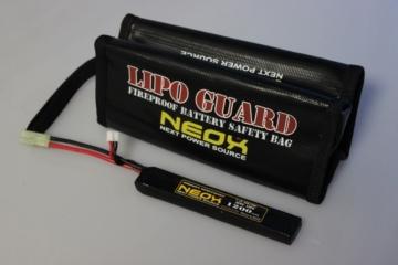 電動ガン バッテリー用 NEOX Lipoバッグ