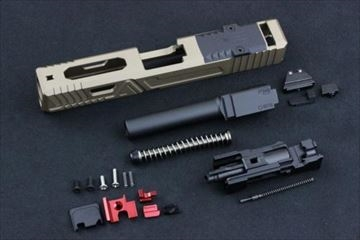 ACE1ARMS AGC G19 スケルトンスライドセット FDE