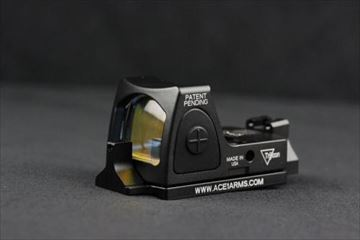 ACE1ARMS Dueck Defenseスタイル RBU ブラック