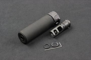 ANGRY GUN SOCOM556 Mini Mock サイレンサー BK