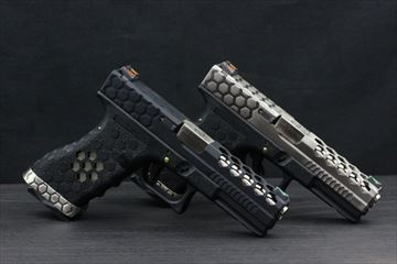 AW CustomsBeehivesWE G17 ガスハンドガン