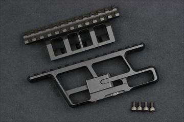 Asura Dynamics フルレングスベース・レールマウントセット for AK (電動ガンガスブロ共用)