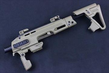 CAA Airsoft RONI ピストルカービン コンバージョンキット G17 G18用 DE