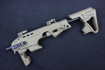 CAA Airsoft RONI ピストルカービン コンバージョンキット M9M9A1用 FDE