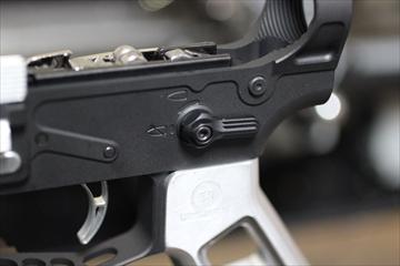 CNC加工 アイアンエアソフト アンビセレクター for 東京マルイ M4A1 MWS