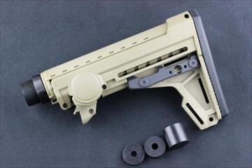ERGO F93 Pro Stock with pad トレポン用 ストック FDE