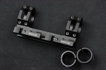 GKタクティカル 2530mm QDデュアルスコープマウント BK
