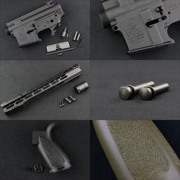 HAO Colt M4レシーバーセット、HLR 13.7インチ、HKスタイルTDピン、PTWグリップ 再入荷!