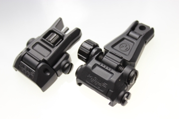 NBUS Pro Style Back up Sight set BK