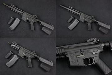 KING ARMS M4 RIS 電動ガン本体 3種