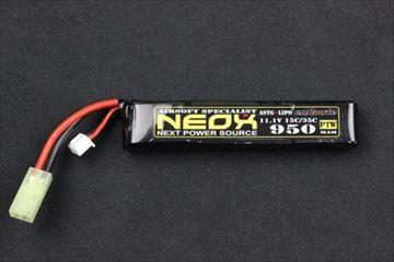 NEOX Lipo11.1v 35C 950mAh miniコネクター