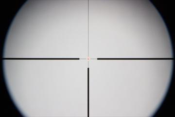 OPTICS タクティカルショートスコープ1.25-4倍 30口径_レティクルRED
