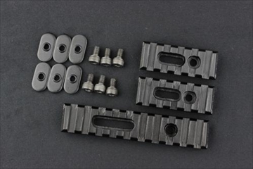 OPTICS G36用 メタル レールパネル 3枚セット BK