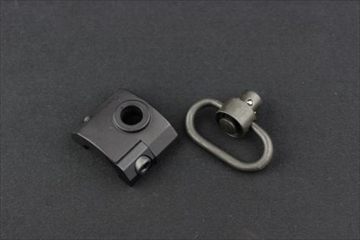 OPTICS QD Socket rail mount BK